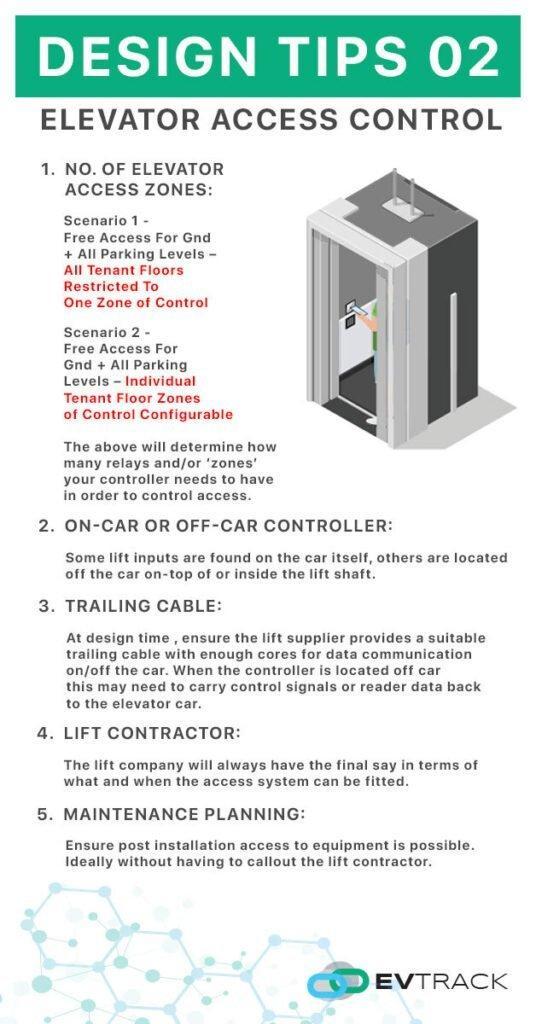 elevator access control design tips