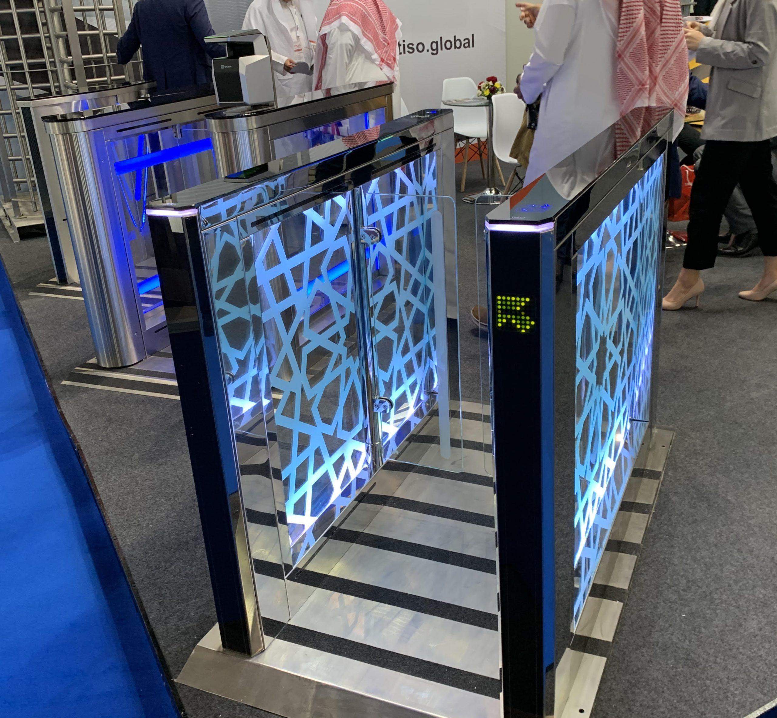 electronic speed turnstile